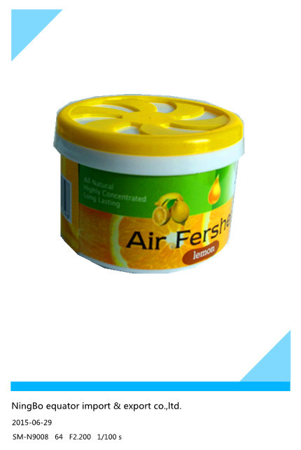 2015 New Air Freshener Perfume GEL Fragrance good quilaty citrus(China (Mainland))