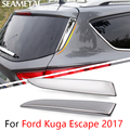 For Ford Kuga Escape 2017 Car Rear Window Trim Side Spoiler Cover Stickers Sequins Tail Decoration