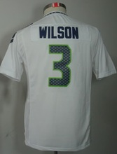 2016 Youth Seattle Seahawks #3 Russell Wilsons #12 Fan #24 Marshawn Lynch Kids navy TOP A+(China (Mainland))