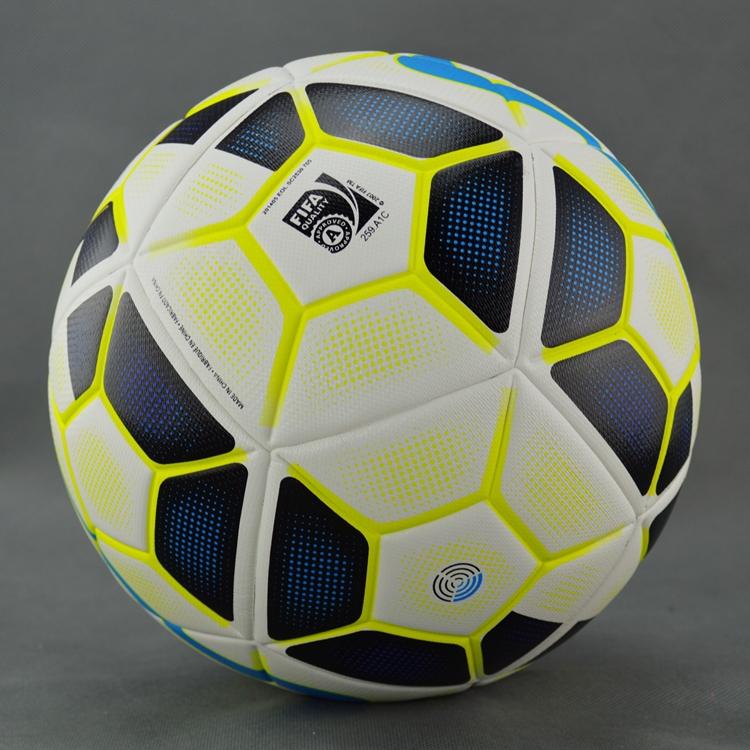 A++ Premier League soccer ball Size 5 football seamless PVC football ball Champions League Granules slip-resistant soccer ball(China (Mainland))