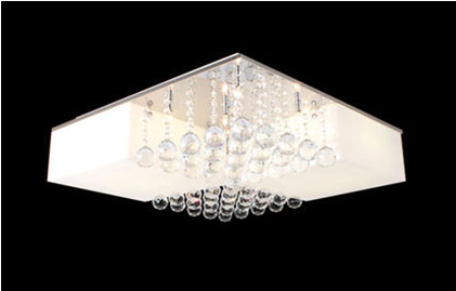 45 * 45 cm optional halogen tungsten lamp/LED lamp dome light acrylic lampshade light crystal absorb dome light(China (Mainland))