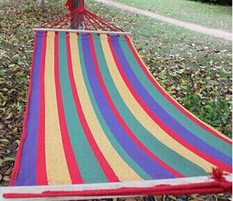 product Spreader Bar tempat tidur gantung di luar taman berkemah ayunan menggantung tempat tidur200 x 80 cm