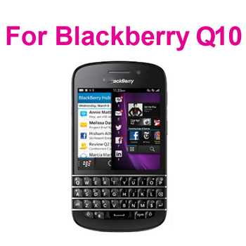 Anti-glare clear Screen Protector For BlackBerry Q10,With Retail Package+100pcs/lot,free shipping