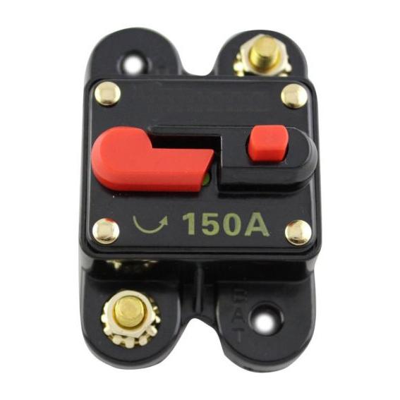 150a disjoncteur dc basse tension remplacer le fusible et - Remplacer porte fusible par disjoncteur ...