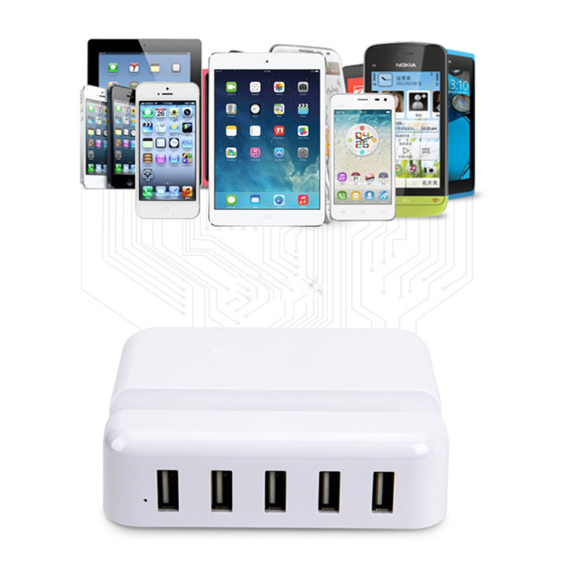 Dock Charger For Apple iPhone 5 5S 6 6s Plus Adapter 6A 5 USB EU US Plug Samsung Huawei HTC LG Dock Smart Charging Device(China (Mainland))