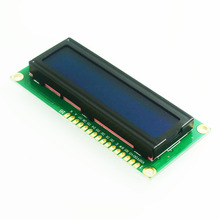 Freeshipping! LCD1602 LCD monitor 1602 5V blue screen and white code for ARDUINO(China (Mainland))