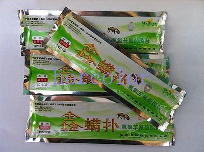 1 Pcs Beekeeping Bee Keeping Fluvalinate Mite Killing Pest Control Varroa Strip(China (Mainland))