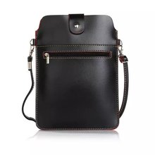 """Sport Double Pockets Messenger Bag Backpack with Belt Pouch Leather Wallet Case Cover For Meizu Meilan 2 3 3s mini 8.0"""" Below(China (Mainland))"""