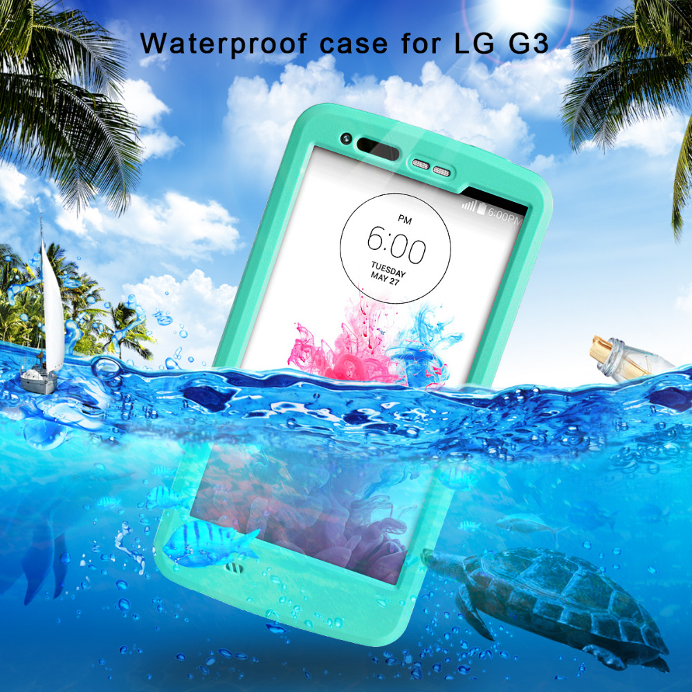 For LG G3 2016 Newest High Quality Water proof Hard Protective Cover Plastic+PC Material Luxury Cell Phone Case(China (Mainland))