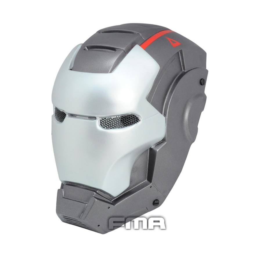 T0389 CS iron man 3 Airsoft paintball Full face protector Halloween Masquerade Party cosplay mask grey color