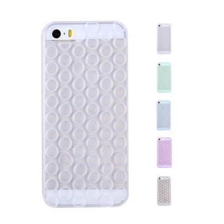 Dropshipping TPU Soft 3D Bubble Wrap Design Fitted Case Silicon Cover Protector For IPhone 6 Plus Retail Dropshipping(China (Mainland))