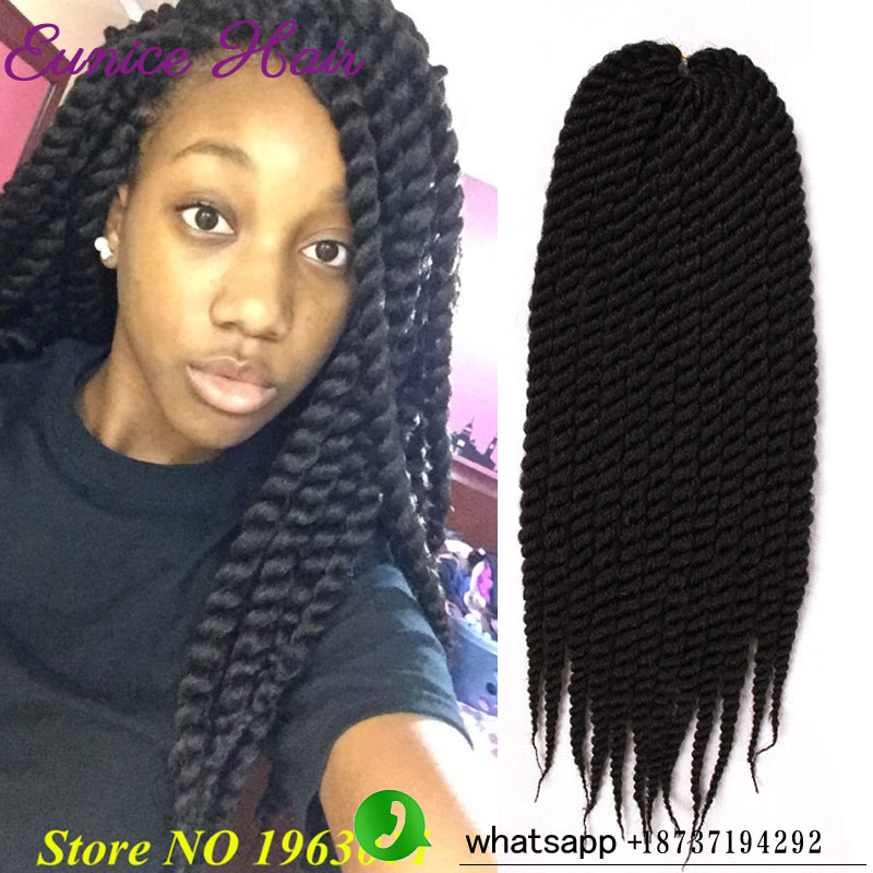 Crochet Braids Hair Salon : 1pack Hot Selling salon 2X Havana Mambo Twist Braiding hair Crochet ...