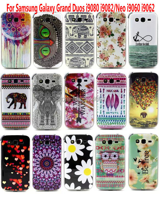 Silicone Cute Pattern Cover samsung galaxy Grand i9082 Housing Rubber cover Case Hard Back Soft White New - Shenzhen Wei Jia Xing Electronic Co., Ltd. store