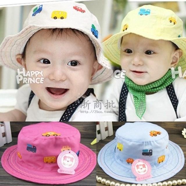 Bonnet automotive standard fluid bucket hats child hat male bucket hat spring and summer sun hat  25ev