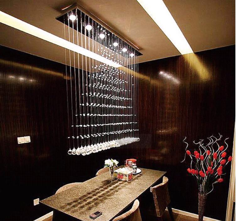 Netmodern Dining Light : -shipping-Dining-Room-Living-Room-New-Modern-Crystal-Chandelier-Light ...