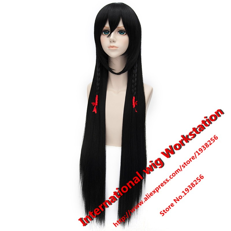 Buy Free Shipping Hot sell ! Flurry sword and knife fight and keep given shape spring paragraph black high temperature wire cosplay cheap