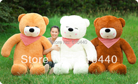 bridthday gift Lovely teddy bear toys soft  plush toys, big size and plush toy 100cm 3 color stuffed plush