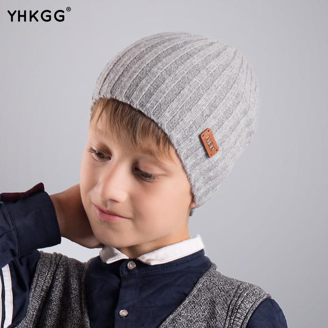2016 YHKGG осень/зимняя мода девушка мальчик дети ребенок хлопка шляпа прекрасный вязание крючком головные уборы аксессуары