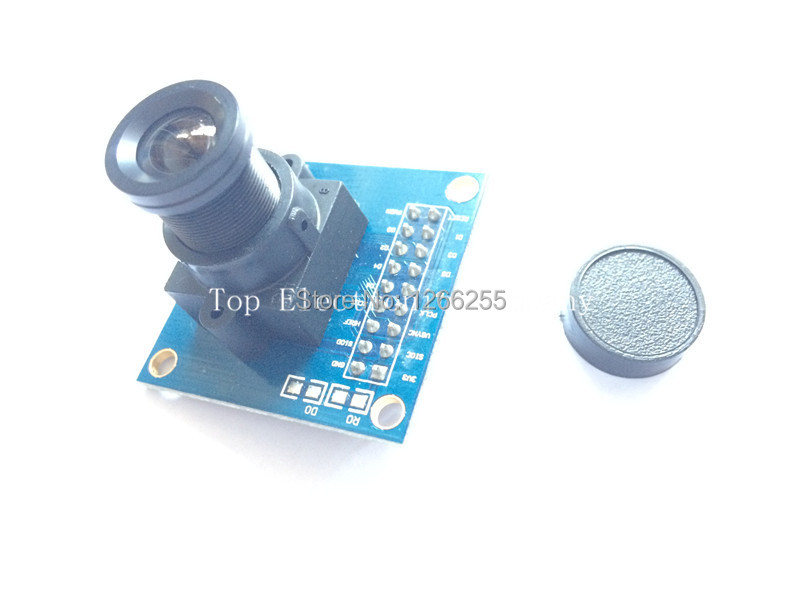 Free shipping !!! 3pcs ov7670 camera module Supports VGA CIF auto exposure control display active size 640X480 for arduino(China (Mainland))