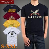 New 2015 American Style Summer Men T shirt Cotton Short Sleeve Man Clothing Camisetas Masculinas Male Apparel Men T-shirt S-XXL