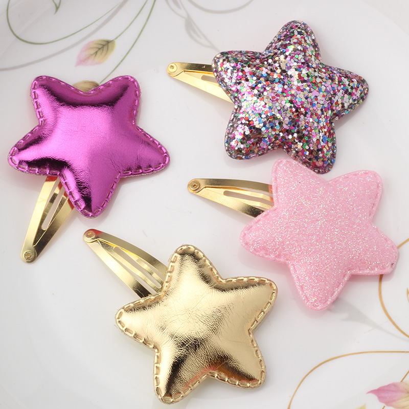 New Style Baby Tie Bow Love Heart BB Hairpins Children Accessories Girls Headwear Color Princess Star Cute Barrette Hair Clip(China (Mainland))