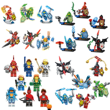 Nexo Knights Future Castle Warrior Ulimate Marvel Building Blocks Kits Toys Minifigures Compatible Legoe Nexus - CyunSing Trading store
