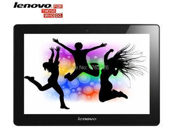 Lenovo планшет 10 дюймов MTK6582 четырехъядерных процессоров планшет PC 3 г телефонный звонок 1024 x 768 IPS 2 ГБ RAM 16 ГБ ROM Android4.4 Bluetooth GPS Dual Sim