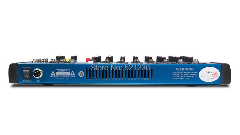 (11.11 sale) factory price Professional Audio dj mixer professional CT-60S 6 channels