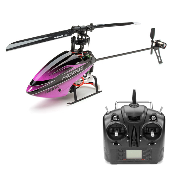 HISKY HCP80 V2 3D 6CH RC Helicopter RTF with H6 Remote Control 3/6 Axis Gyro Model Switchable<br><br>Aliexpress
