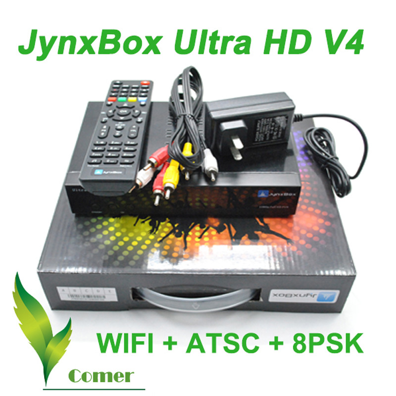 Jynxbox v4 Satellite Receiver,Jynxbox Ultra V4 upgraded from Jynxbox v2 /v3, Jynxbox ultra hd v4 with JB 200 tuner(China (Mainland))