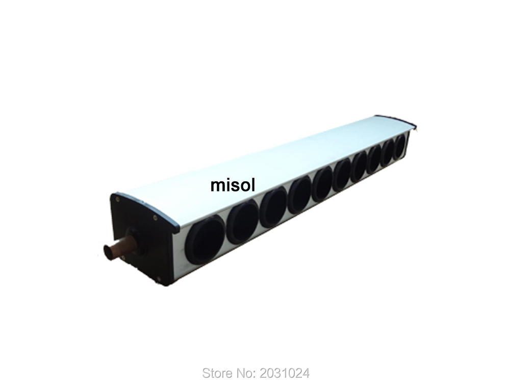 manifold (10 holes, diameter: 58mm) for solar collector, for solar water heater(China (Mainland))
