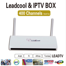 Iptv Set Top Box Leadcool Android Tv Box Android 4.4 With 1 Month Free Iptv Account Arabic French Iptv Channels Sport Canal