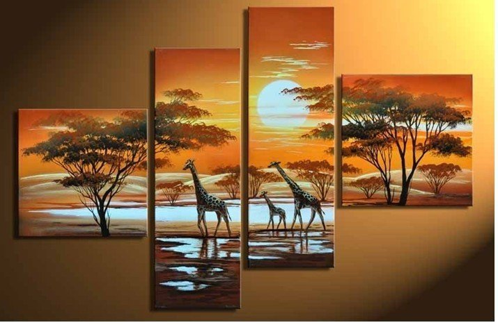 African kitchen decor reviews online shopping african for What kind of paint to use on kitchen cabinets for african wall art and decor