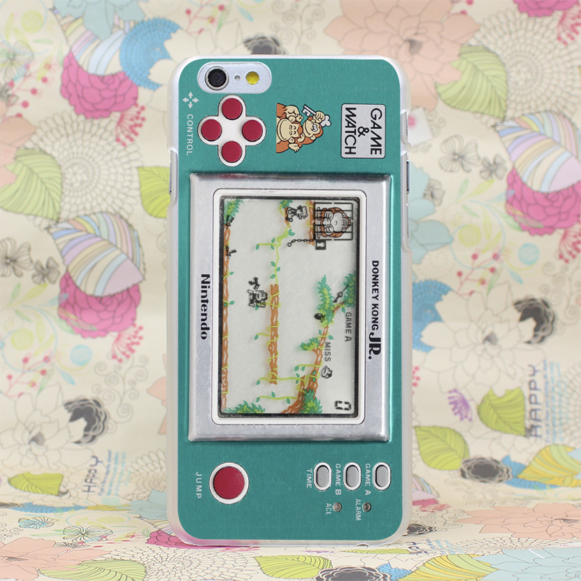 416HJ Game And Watch Plastic Hard Transparent Case Cover for iPhone 4 4s 5 5s SE 5C 6 6s Plus 7 7 Plus(China (Mainland))