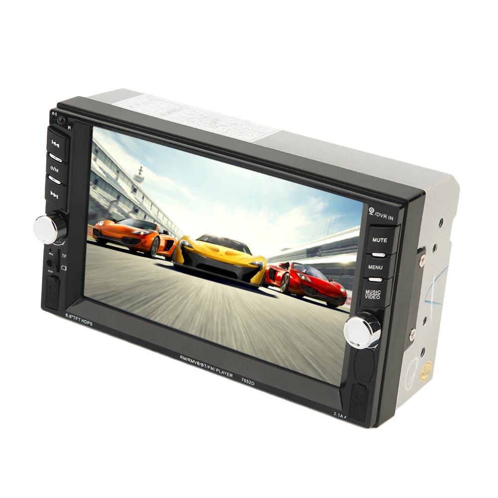 Купить 2016 Новый 7 Дюймов Сенсорный Экран Авто Dvd-плеер Автомобиля Bluetooth 800*480 DVD Радио-Плеер Для Автомобиля черный Горячий