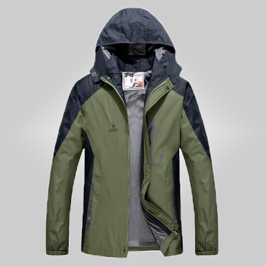 free shipping 2015 new brand products men's jackets sporting wear outdoor hiking camping coat winter waterproof windstopper 38(China (Mainland))
