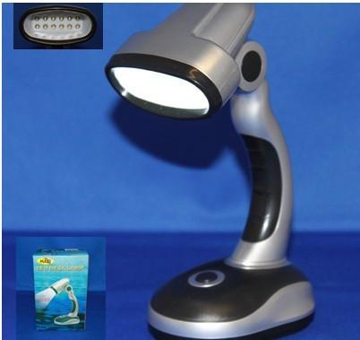 Cordless Adjustable Mini USB LED Emergency Light Energy Saving Book Reading Lamp with 12 LEDs Abajur(China (Mainland))