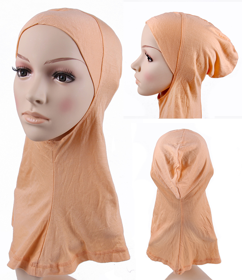 2016 muslim scarf women Polyester Cotton Muslim Mini Hijab Islamic Inner Ninja Underscarf Instant Shawl Caps Jersry Turban(China (Mainland))