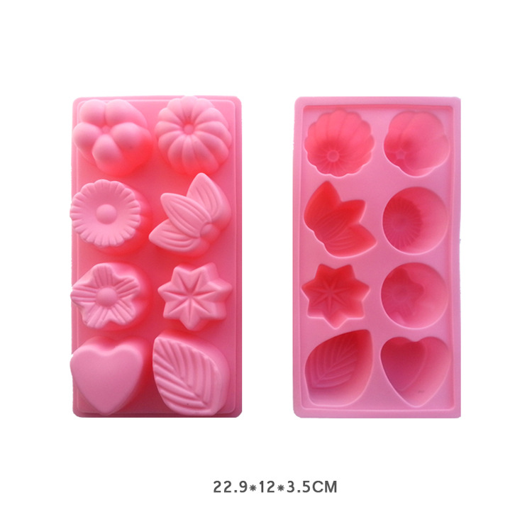 New eight flower-shaped cake Handmade chocolate mould Baking mold New product Diverse styles Sell like hot cakes(China (Mainland))