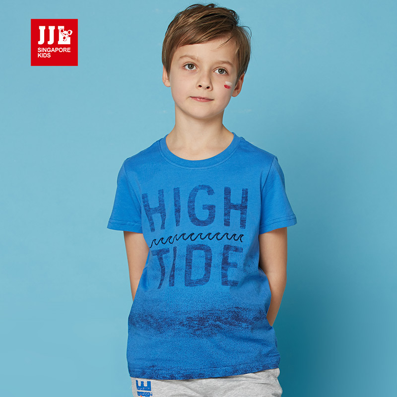 6-15year 2016 summer new fashion  pattern children t shirts boys kids t-shirt designs teen clothing for boys baby clothing tee<br><br>Aliexpress
