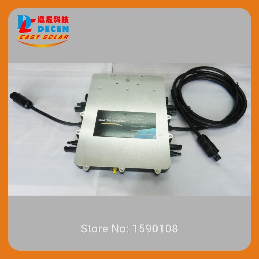 SUN1200G IP67 Micro Grid Tie Power Inverter With ETL/ SAA/ VDE/ TUV Certificate, 20 Years Limited Warranty(China (Mainland))
