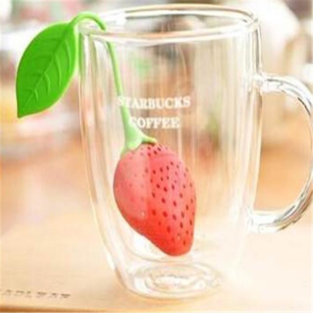 Zaparzacz do herbaty truskawka