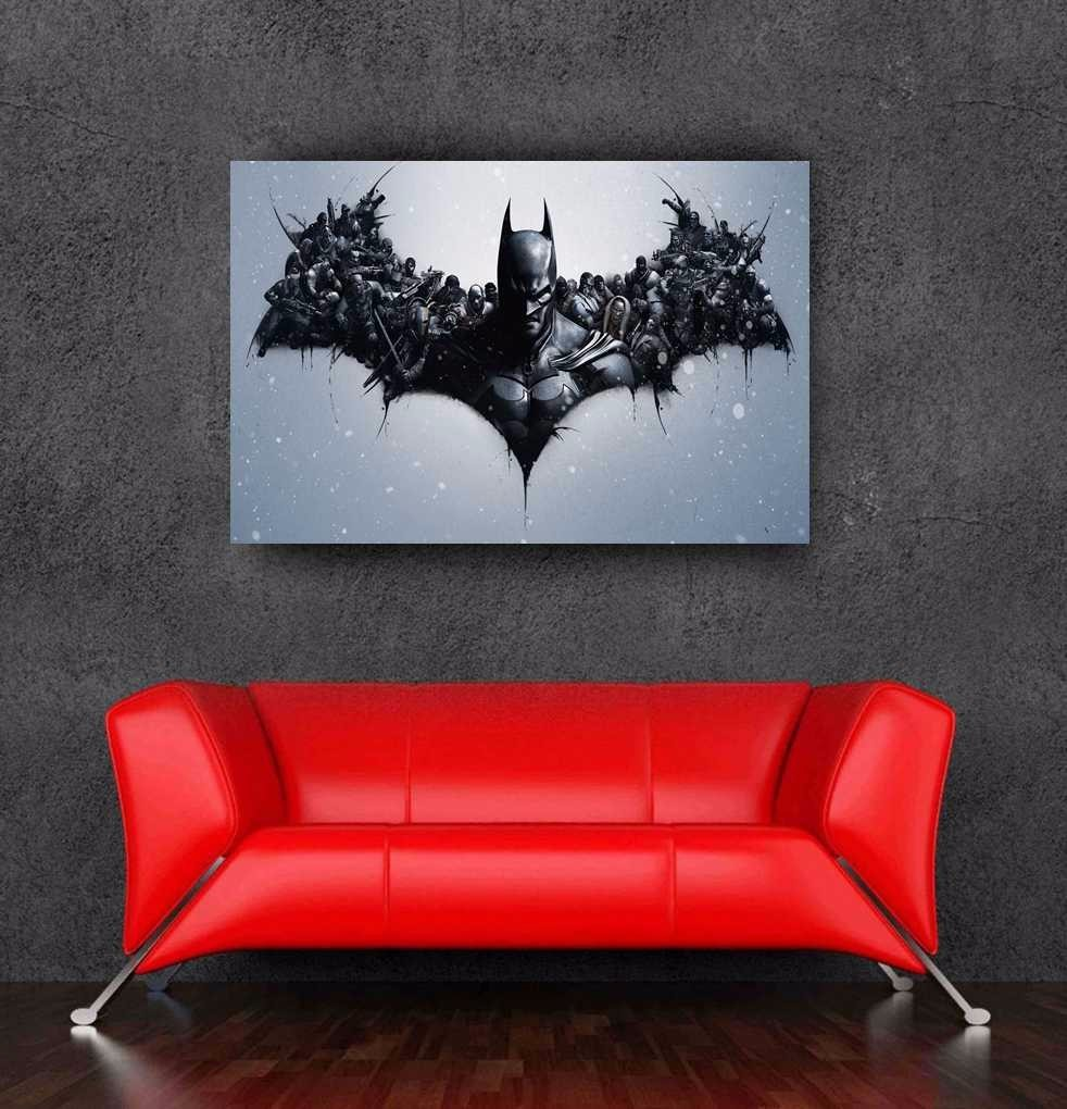 2016 newest the dark knight rises batman logo wall sticker for Dark knight rises wall mural