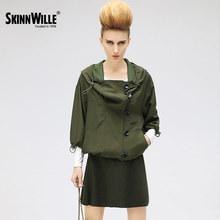 SkinnWille 2017ветровка женская куртка пальто женское джинсовая куртка куртки женские пиджак женский (China (Mainland))