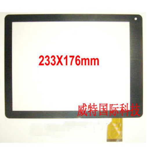Black Original touch screen 9.7' inch Digma iDs10 3G ids 10 3G tablet touch panel digitizer glass replacement Free Shipping(China (Mainland))