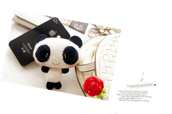 12 pcs Mini plush panda doll small toy dolls gifts Panda Plush Toy Stuffed(China (Mainland))