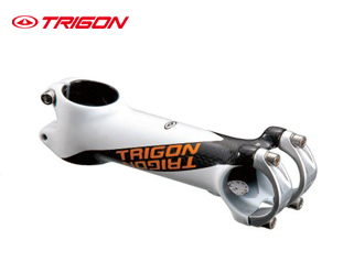 Trigon HSA01 ultra light carbon stem bike bicycle titanium bolts 31.8mm*90mm white - Cycleworld store