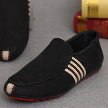 Red Bottom Shoes For Men Loafers Casual Flat Shoes Fashion Men Slip On Outdoor Shoes Mocassim