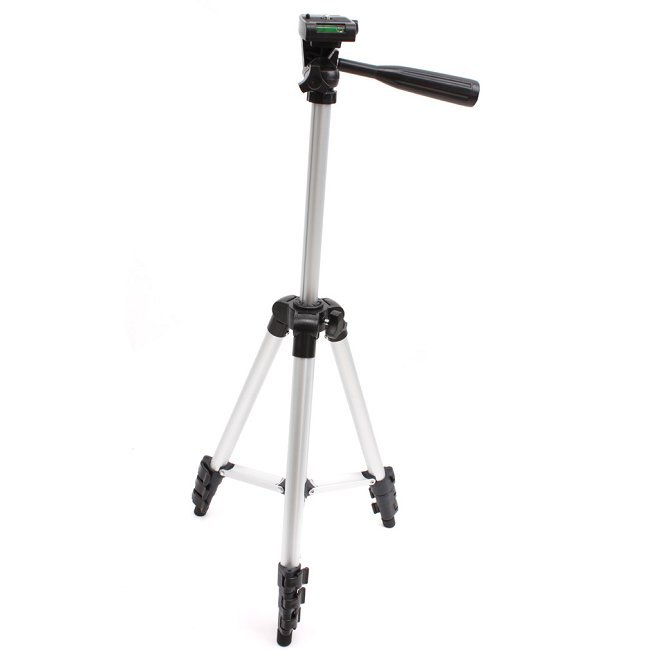 4 Sections Camera Camcorder Tripod Stand Compact Universal Metal Professional 41inch Flexible Outdoor Tripod AY672205(China (Mainland))