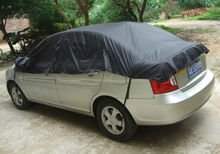 Free shipping CAR COVER Heat Shield Waterproof and dustproof UV Soft non-woven(China (Mainland))
